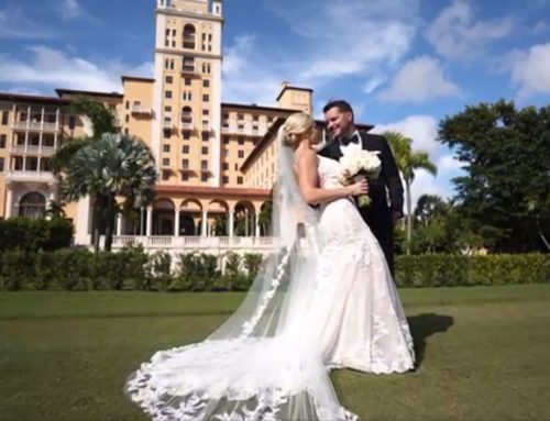 Biltmore Miami Hotel Wedding in Blush Pink and Gold