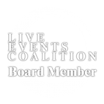 Live Events Coalition Board Member