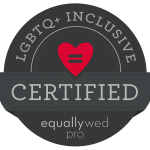 LGBTQ + Inclusive Certified, Equally Wed 2020