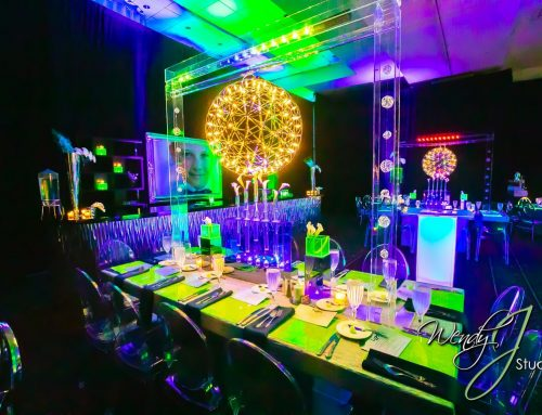 Liam's Modern Neon Bar Mitzvah, Cooper City FL