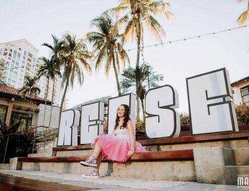 Reese's Bat Mitzvah at Broward Center in Ft Lauderdale