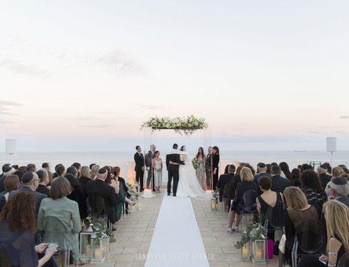 Conrad Ft Lauderdale Wedding, Lauren and Zack